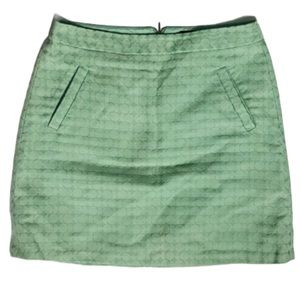 The Limited pale green dot print skirt 8